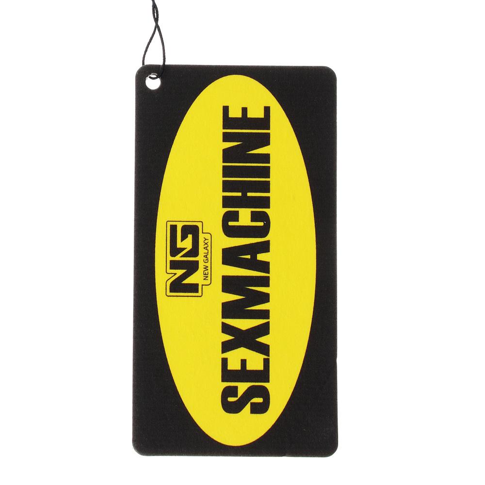 NEW GALAXY Ароматизатор бумажный Danger/Sexmachine, ваниль, арт.№ 794-201