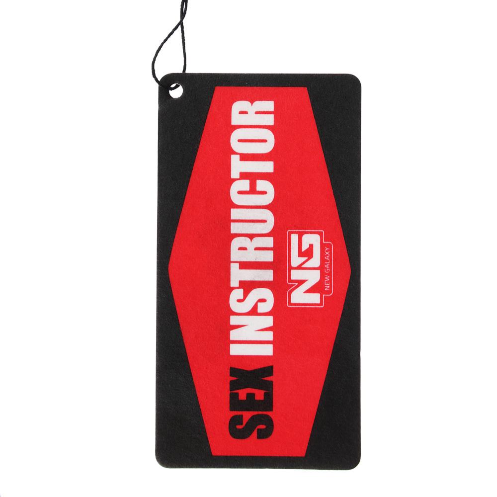 NEW GALAXY Ароматизатор бумажный Danger/Sexinstuctor, новая машина, арт.№ 794-318