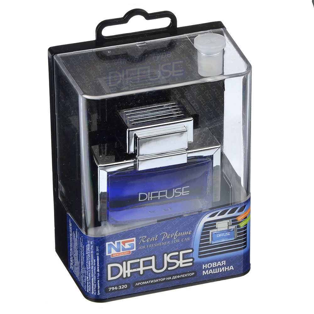 NEW GALAXY Ароматизатор на дефлектор Diffuse, новая машина Дизайн GC, арт.№ 794-320