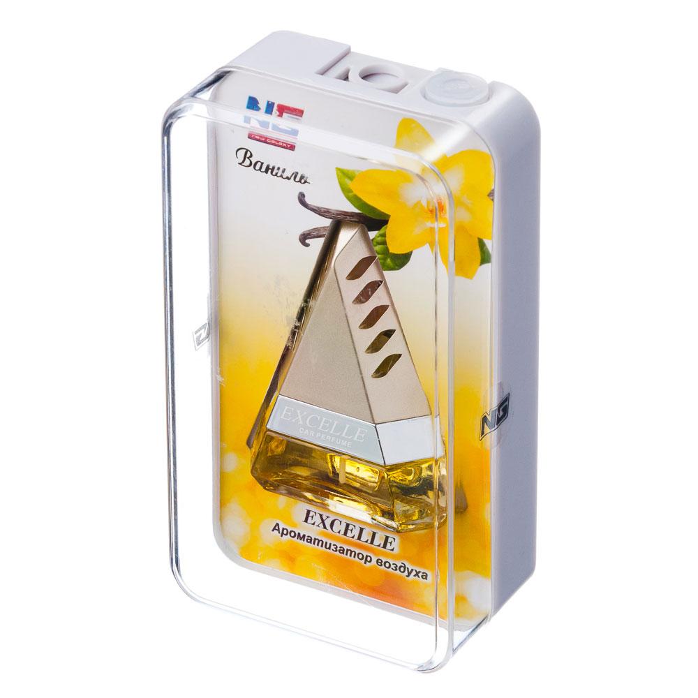 NEW GALAXY Ароматизатор на дефлектор Excelle, ваниль Дизайн GC, арт.№ 794-324