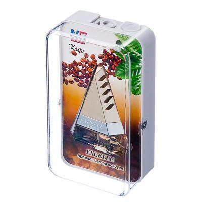 NEW GALAXY Ароматизатор на дефлектор Excelle, кофе Дизайн GC, арт.№ 794-325