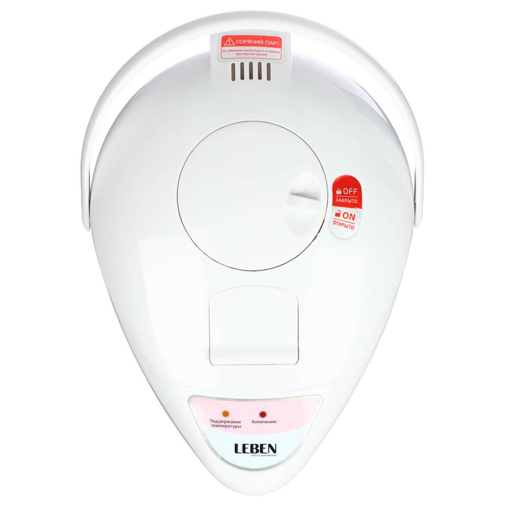 LEBEN Чайник-термопот 2,8л, 750Вт, автоматич. поддержание температ., механич.помпа, арт.№ 291-008