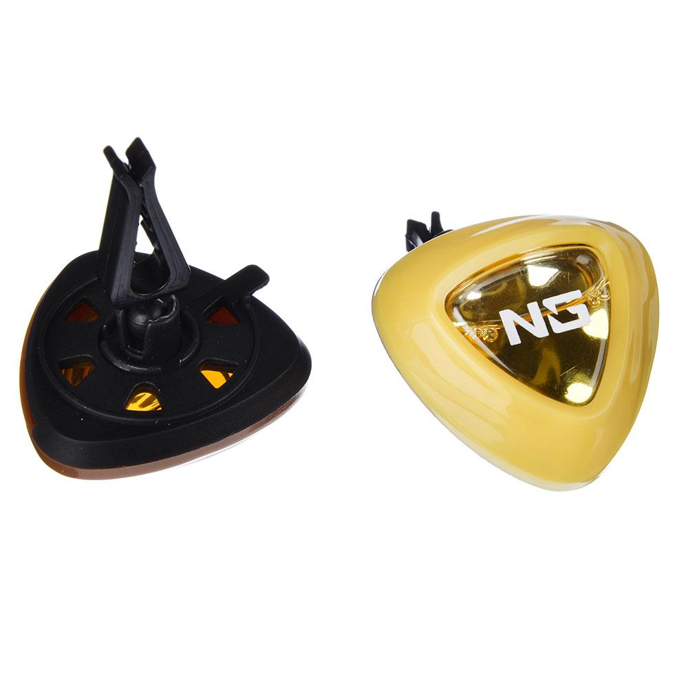 NEW GALAXY Ароматизатор на дефлектор Double Fresh 2 в 1, кофе/ ваниль, арт.№ 794-444