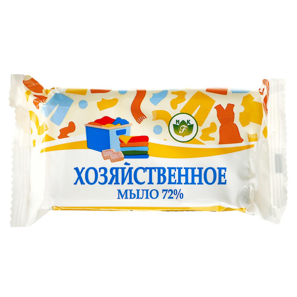 Мыло хозяйственное твердое 72%, п/п 150г, 4300000119, арт.№ 952-068