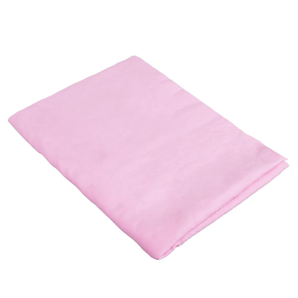 NEW GALAXY Замша протирочная PVA, в тубе, 43x32см, розовая, арт.№ 728-009