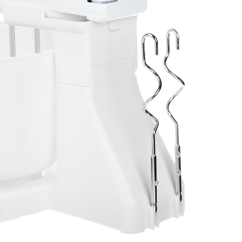 LEBEN Миксер кухонный 100Вт, 7 скоростей, 2 пары насадок, пластиковая чаша 2л, арт.№ 269-013