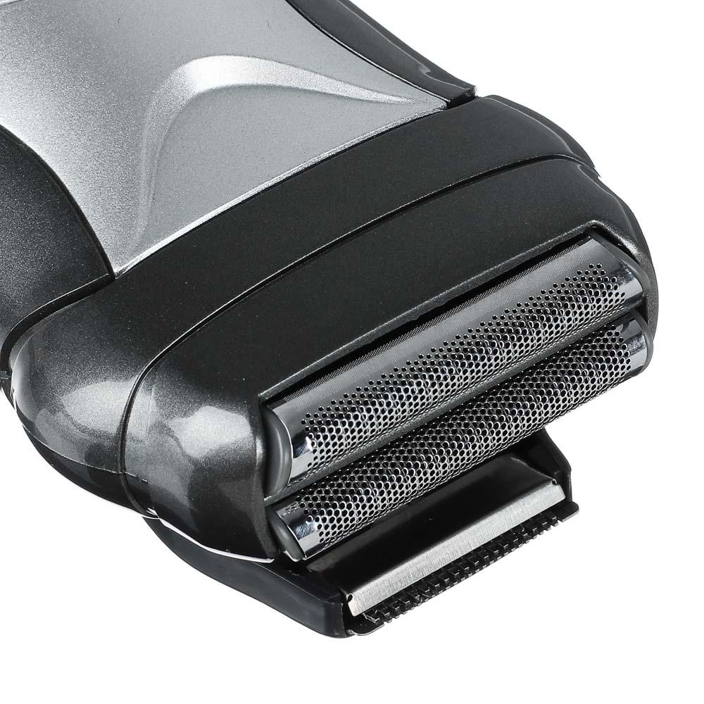 LEBEN Бритва аккумуляторная водонепроницаемая, сеточная система бритья на базе, RSCX6280, арт.№ 251-059