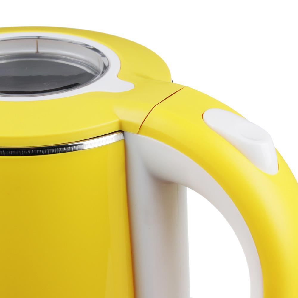 LEBEN Чайник электрический 2,0л, 1500Вт, скрытый нагр.элемент, автооткл., нерж сталь+пластик, арт.№ 291-036