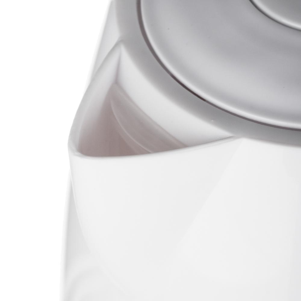 LEBEN Чайник электрический 1,0л, 1350Вт, скрытый нагр.элемент, пластик, 2 цвета, арт.№ 291-044