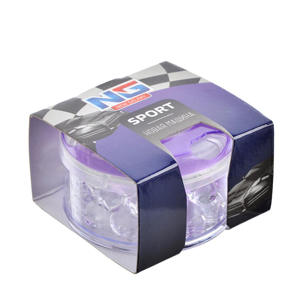 NEW GALAXY Ароматизатор Спорт, 55 гр.,ваниль, бабл гам, новая машина, океан, 8 шт, цена за шт, арт.№ 794-541