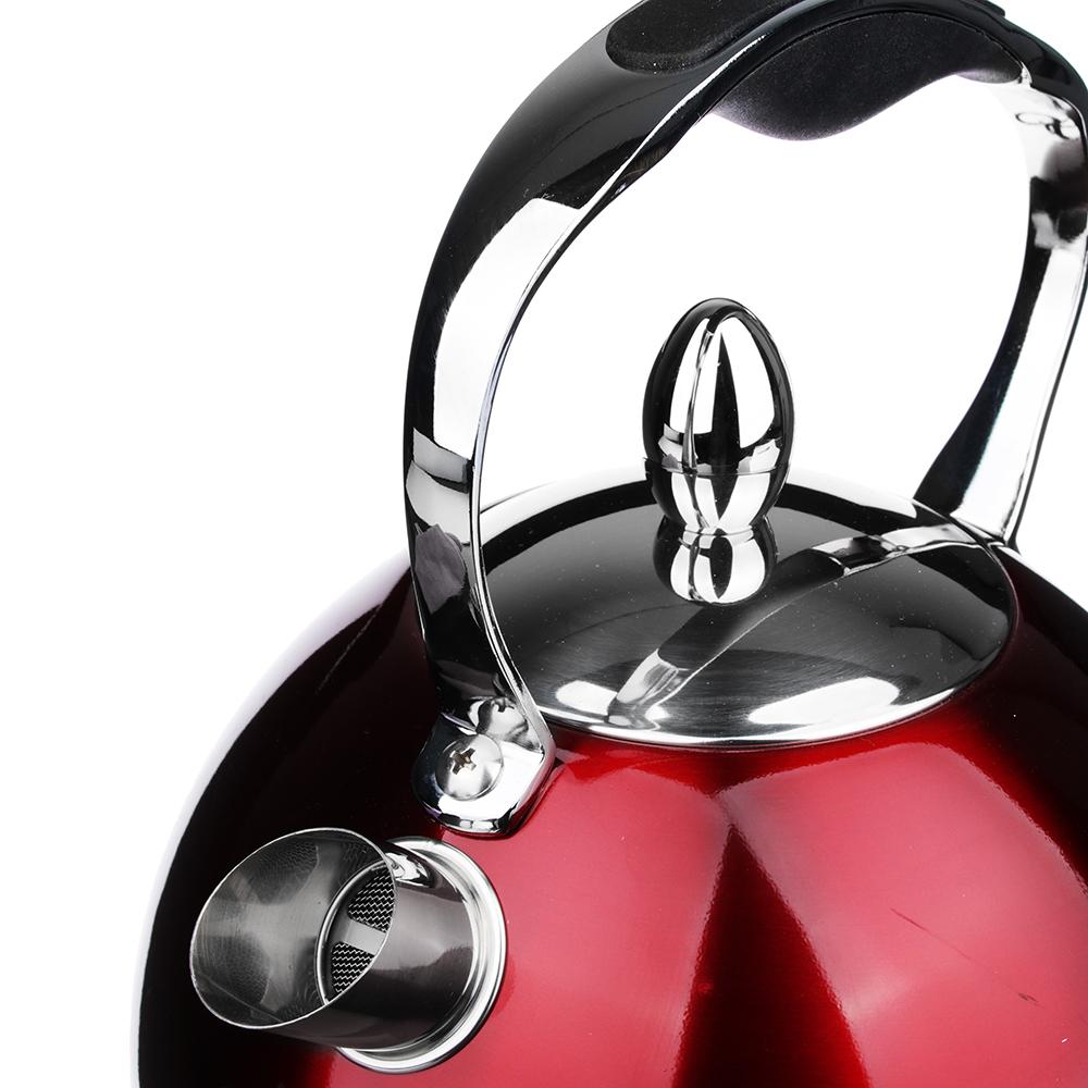 """LEBEN Чайник электрический 2,0л, 2200Вт, нерж. сталь, """"Стайл"""", арт.№ 291-055"""