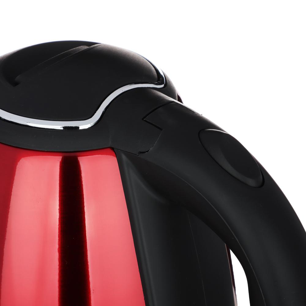 LEBEN Чайник электрический 1,8л, 1500Вт, нерж. сталь, 4 цвета, арт.№ 291-071
