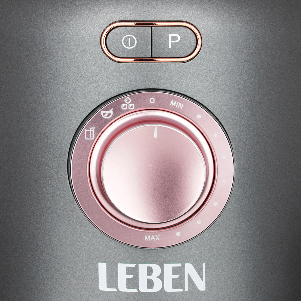 LEBEN Блендер-стакан 1200Вт, 1,8л, 3скорости, стекло, арт.№ 269-026
