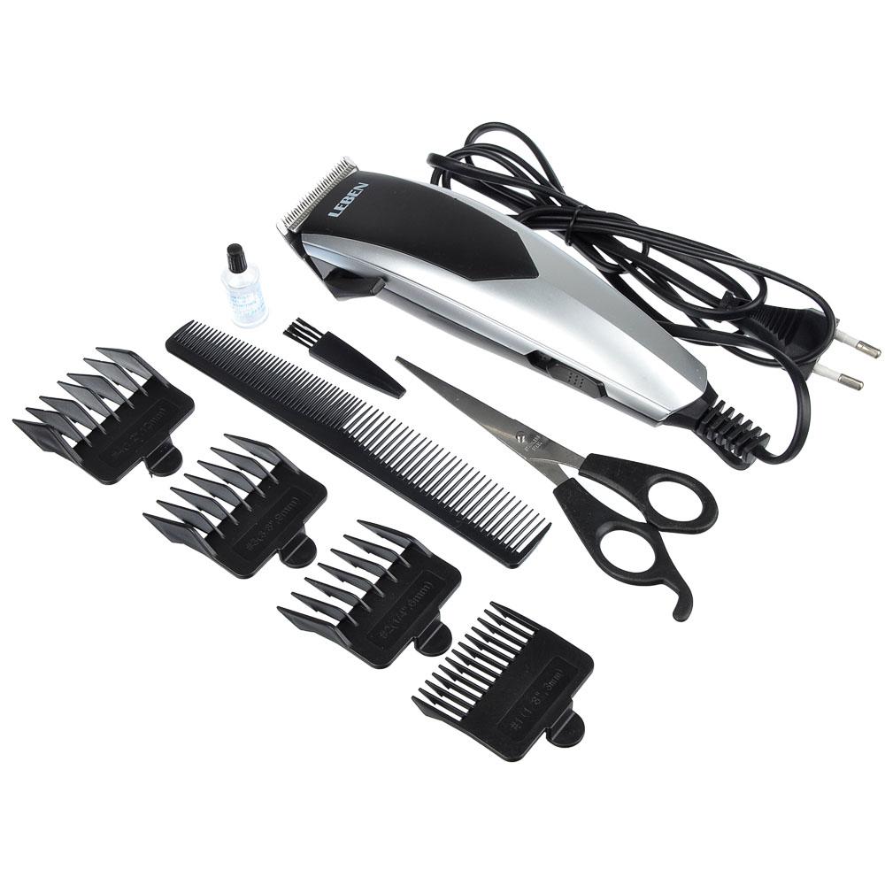 LEBEN Машинка для стрижки волос, 10Вт, арт.№ 251-061