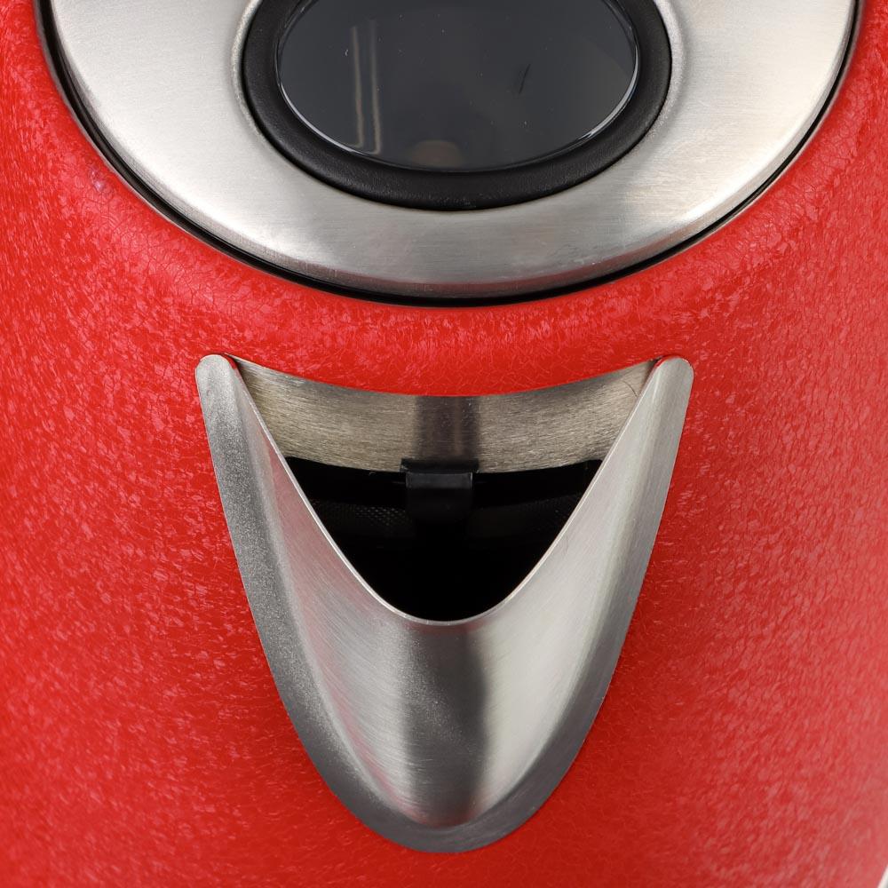 LEBEN Чайник электрический 1,8л, 1850Вт, металл, 2 цвета, арт.№ 291-085